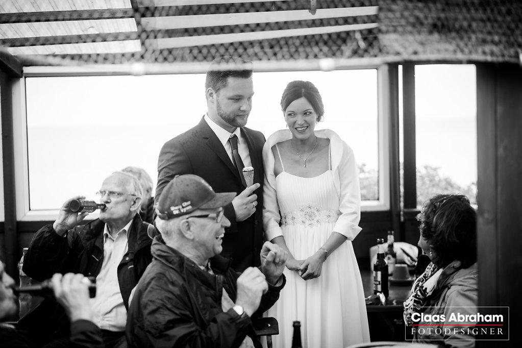 Ich hatte das Brautpaar
